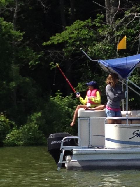 Fishing on Fremont Lake