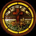 Cross, Laurel and Anchor